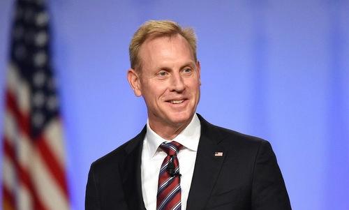 Thứ trưởng Quốc phòng Mỹ Patrick Shanahan. Ảnh: Reuters.
