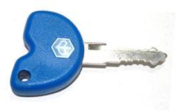 Chìa khóa chính. Chip từ có thể tháo rời, dùng để cài đặt cho chìa khác.