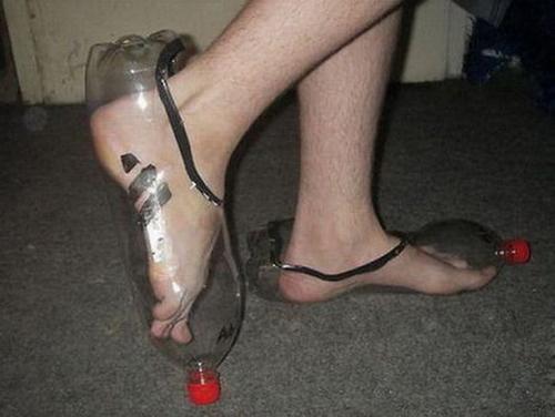 Giày cho mùa mưa chăng?