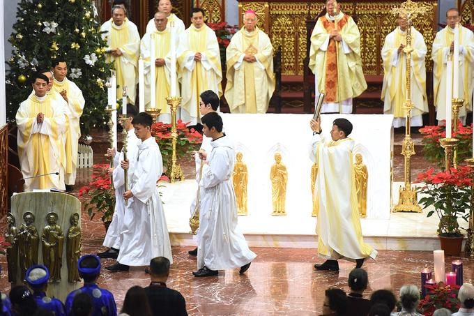 Giáo dân Hà Nội được ban phước lành ngày Giáng sinh