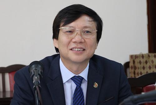 Phó chủ tịch thường trực Hội nhà báo Hồ Quang Lợi. Ảnh: HNB