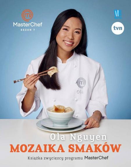 Cuốn sách của Ola với tư cách Vua đầu bếp Ba Lan mùa thứ 7. Ảnh: Facebook.