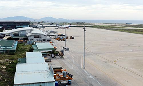 Sân bay Cam Ranh (Khánh Hòa). Ảnh:An Phước.