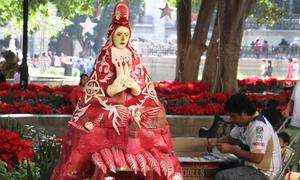 Giáng sinh củ cải đỏ ở Mexico