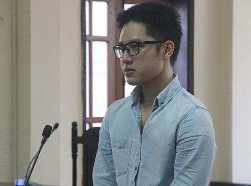 Bị cáo Kiên tại phiên xử sơ thẩm. Ảnh: Đức Hùng