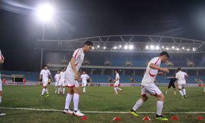Đội tuyển Việt Nam - Triều Tiên khởi động trước trận
