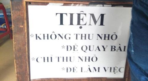 Tiệm photocopy có tâm nhất Việt Nam.