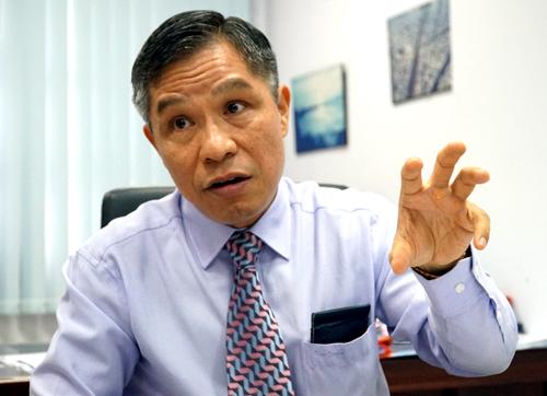 Giám đốc Ban quản lý đường sắt đô thị TP HCM Lê Nguyễn Minh Quang. Ảnh: Quốc Đoan