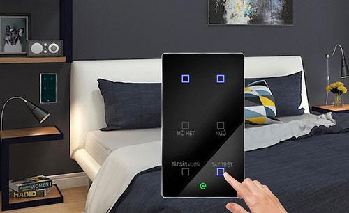 Nhà thông minh Easy control là một giải pháp dự thj  giúp đồng bộ tất cả thiết bị trong nhà và kiểm soát qua internet, giúp người dùng dù ở bất kỳ đâu cũng có thể điều khiển các vật dụng từ bóng đèn, máy lạnh, TV cho đến cả rèm, cửa ra vào... Đây là một tr