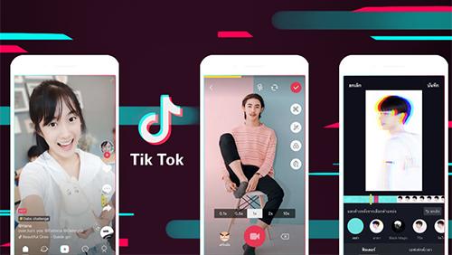 Ứn dụng TikTokthu hút tới 500 triệu người dùng là giới trẻ. Ảnh: TikTok
