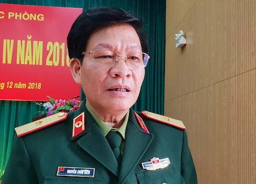 Thiếu tướng Nguyễn Xuân Kiên, Cục trưởng Cục Quân y (Bộ Quốc phòng). Ảnh: HT