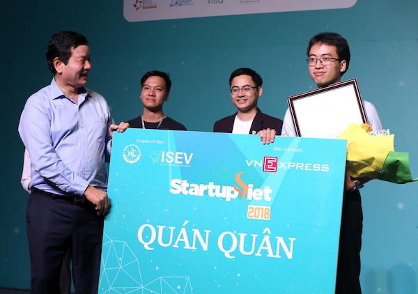 Datamart đứng đầu Startup Việt 2018.