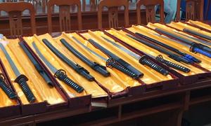 Kho vũ khí 'khủng' vừa bị triệt phá tại Sài Gòn