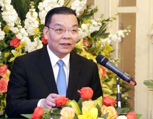 Bộ trưởng Chu Ngọc Anh phát biểu tại lễ tổng kết. Ảnh: Ngũ Hiệp.