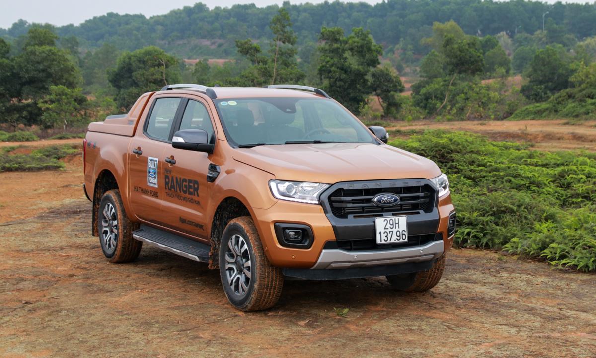 Ford Ranger mới - những ưu thế so với đối thủ tại Việt Nam