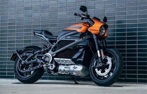 Harley-Davidson LiveWire - môtô điện sẽ xuất hiện tại CES 2019.
