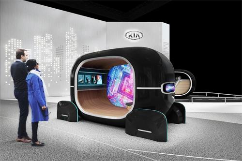 Công nghệ ôtô sắp phô diễn ở triển lãm CES 2019 - 2