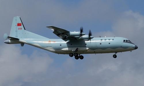 Máy bay do thám Y-9 của Trung Quốc. Ảnh: Sino Defense.