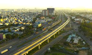 Hiện trạng tuyến metro Số 1 TP HCM sau 11 năm xây dựng