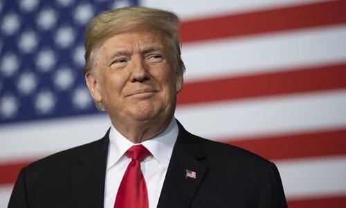 Tổng thống Mỹ Trump tại Missouri ngày 7/12. Ảnh: AFP.