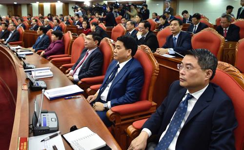 Các đại biểu tham dự Hội nghị Trung ương 9, khóa XII tháng 12/2018. Ảnh: VGP