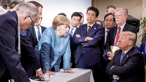 Tổng thống Donald Trump là người châm ngòi cho cuộc chiến trang thương mại Mỹ - Trung