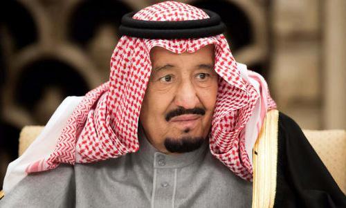 Vua Salman trong một cuộc họp chính phủ năm 2014. Ảnh: AFP.