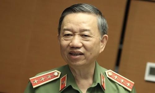 Bộ trưởng Công an Tô Lâm. Ảnh: PV