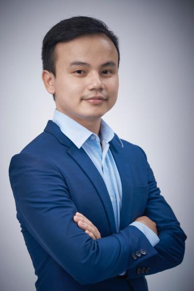 Cựu sinh viên Ngoại Thương Võ Thành Vin.