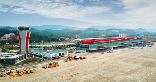 Cảng hàng không quốc tế Vân Đồn. Ảnh: Minh Cương