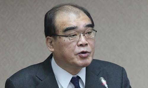 Tân giám đốc Cơ quan Di trú Đài Loan Chiu Feng-kuang. Ảnh: CNA.