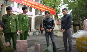 Công an Hà Nội thu giữ 2,5 tấn nầm lợn bẩn
