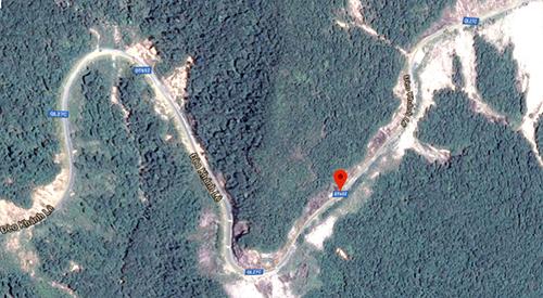 Tuyến đèo Khánh Lê nối Nha Trang đi Lâm Đồng.