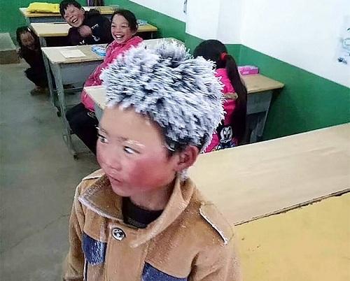 Bức ảnh Wang Fuman được chụp hôm 8/1. Ảnh: Fu Heng