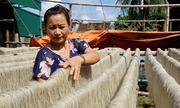 Nghề làm miến dong truyền thống nổi tiếng xứ Thanh