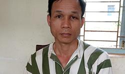 Hồ Trọng Đăng tại cơ quan điều tra. Ảnh: Sơn Nguyễn.