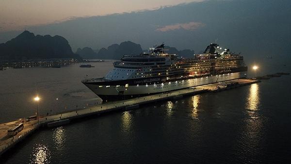 Cảng tàu khách quốc tế Hạ Long.