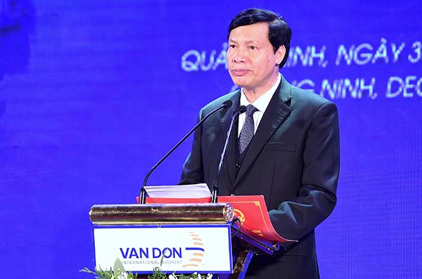 Ông Nguyễn Đức Long, Chủ tịch UBND tỉnh Quảng Ninh. Ảnh: Giang Huy