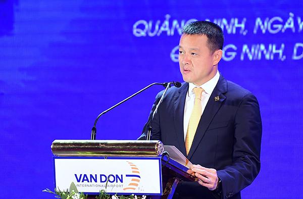 Ông Đặng Minh Trường, Phó Chủ tịch Sun Group phát biểu tại sự kiện.