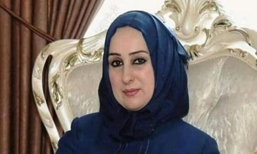 Tân Bộ trưởng Giáo dục Iraq Shaima al-Hayali. Ảnh: Facebook.