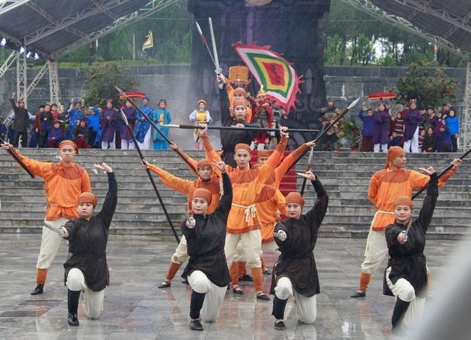 Huế tái hiện nghi lễ vua Quang Trung lên ngôi hoàng đế