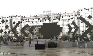 Dàn pháo hoa kỷ niệm 22 năm Đà Nẵng trực thuộc trung ương