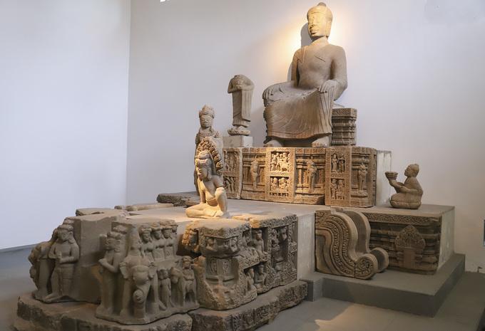 Hiện vật Chămpa thành bảo vật quốc gia ở Đà Nẵng