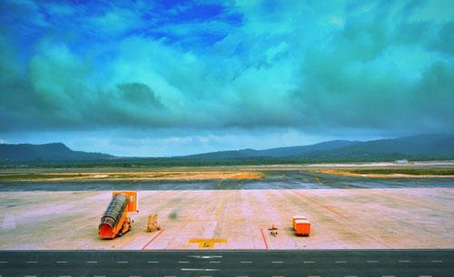 Một sân bay quốc tế ở Việt Nam. Ảnh: ACV.