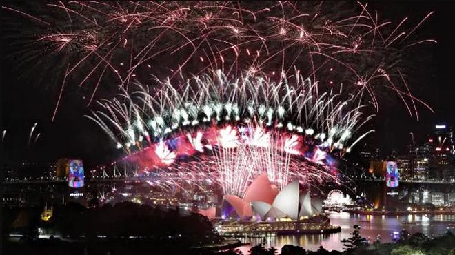 Những màn trình diễn pháo hoa chào năm mới tại Australia