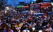Cửa ngõ Sài Gòn tắc nghẽn ngày cuối kỳ nghỉ Tết Dương lịch
