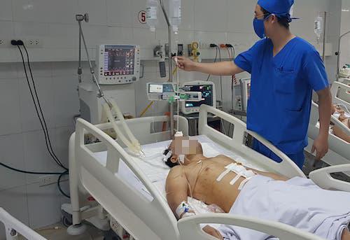 Một nạn nhân trong vụ án điều trị tại bệnh viện đa khoa tỉnh Nghệ An.