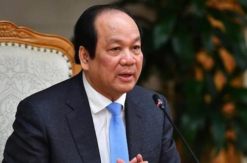 Bộ trưởng, Chủ nhiệm Văn phòng Chính phủ Mai Tiến Dũng. Ảnh: Hà Nguyễn