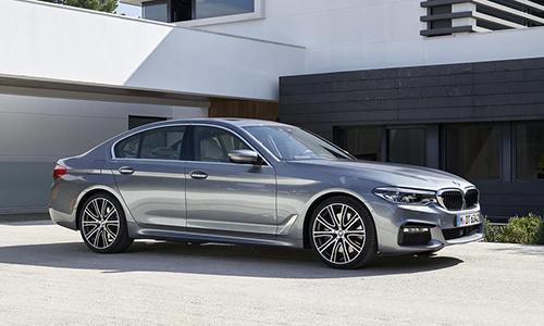 BMW Series 5 thay đổi nhiều so với thế hệ cũ.