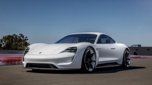 Taycan bản concept. Ảnh: Porsche.